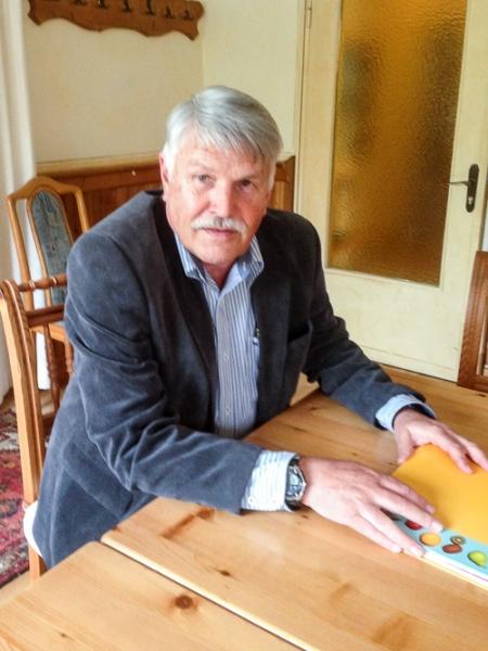 Manfred Günther, unser neuer Vorsitzender.