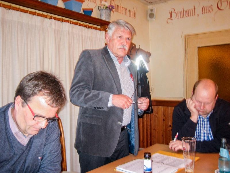 V. l. n. r.: Eckhard Usbeck, Manfred Günther, Frank Marchand.