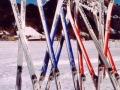 Das sind die neuen Skier.