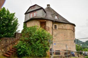 Der Hexenturm in Marburg.