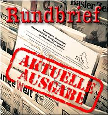 Rundbrief - Aktuelle Ausgabe